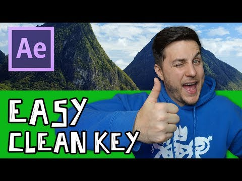 3 Easy Steps For Green Screen Footage In After Effects