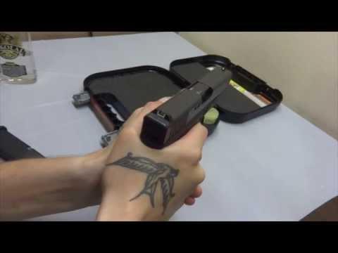 Glock 25 Cent Trigger Job on Gen 4 - HD