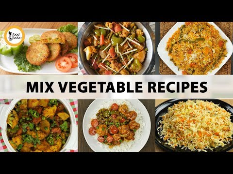 Mix Vegetable Recipes By Food Fusion Actionws Abc Action News
