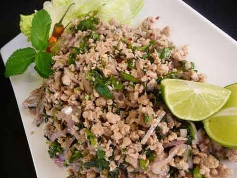 Thai Larb Spicy Chicken Salad