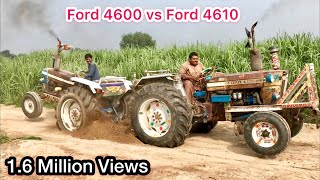 Tractor tochan Ford 4600 vs Ford 4610 with out driver