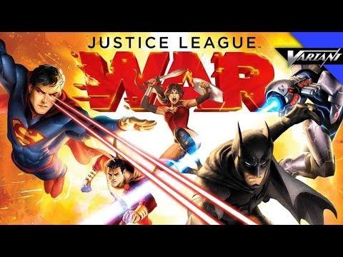 Justice League War Movie REVIEW!