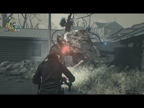 【PS4】The Evil Within 2 - #22 Ch15 The End of This World(Survival No Damage 100% Collectibles)
