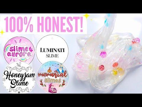100% HONEST $200 Underrated Instagram Slime Shop Review! Non-Famous/Famous US Slime Package Unboxing