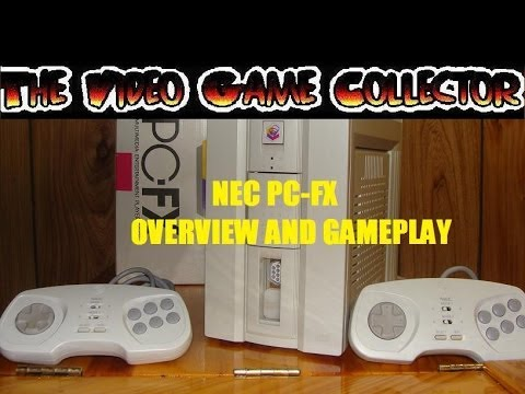 NEC PC-FX CONSOLE SYSTEM OVERVIEW AND GAMEPLAY