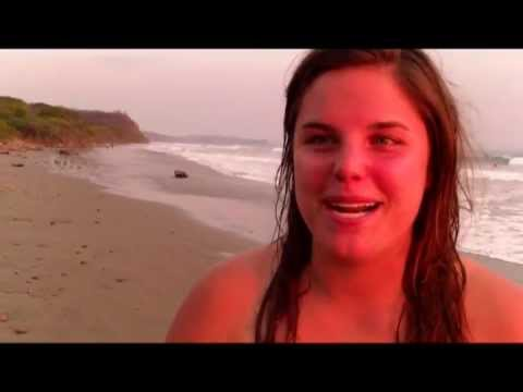 Volleyball's Breanna Williams talks about Nicaragua