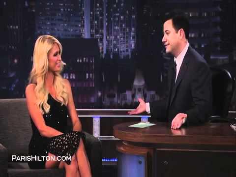Paris Hilton on Jimmy Kimmel Part 3/3