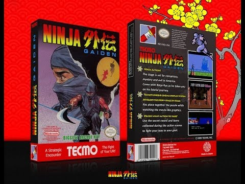 Ninja Gaiden NES Gameplay No Death (Полное прохождение) (Ultra HD 4k)