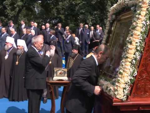 Nicolae Timofti a participat la ceremoniile consacrate aniversării a 1025 de ani de la creștinarea Rusiei Kievene