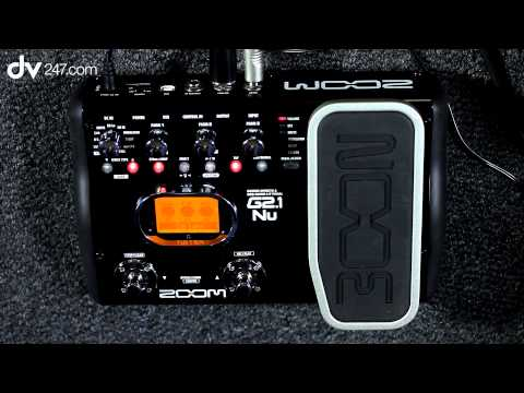 Zoom G2.1NU Guitar Multi Effects Pedal