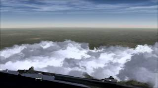 FSX Timelapse Hamburg-Munich Full Flight
