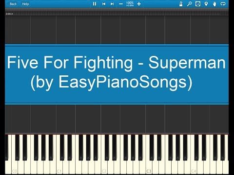 Superman (It's Not Easy) - Five for Fighting video tutorial preview