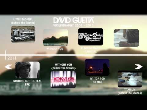 David Guetta Interactive Timeline 2001-2013