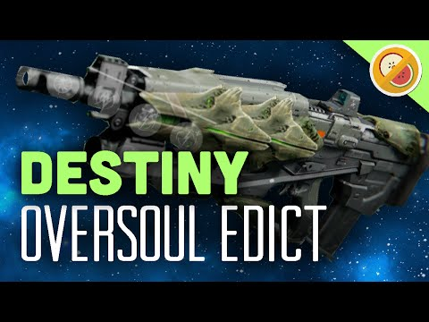 DESTINY Oversoul Edict Fully Upgraded Legendary Review (PS4 Gameplay Commentary) Funny Moments (видео)