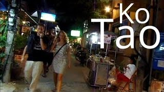 Nightlife On Ko Tao Island Thailand