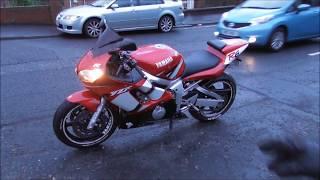 8. Mark's New to Him 2002 R6 Yamaha Motorcycle