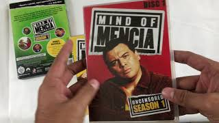 Mind Of Mencia Uncensored Season 1 and 2 DVD Unboxing