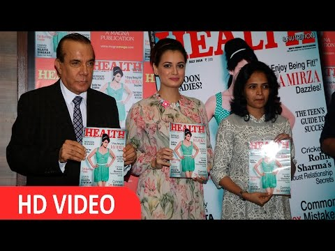 Dia Mirza At Health & Nutrition' The Success Of Its July 2016 Issue