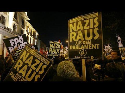 Βιέννη: Διαδήλωση κατά του ετήσιου χορού Ευρωπαίων ακροδεξιών