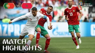 Video Portugal v Morocco - 2018 FIFA World Cup Russia™ - Match 19 MP3, 3GP, MP4, WEBM, AVI, FLV Juli 2018
