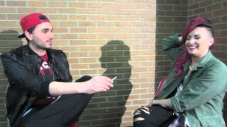Demi Lovato Interview (Refuses To Talk About Selena Gomez&Justin Bieber)