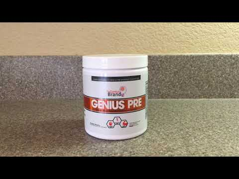 REVIEW: Genius Pre Workout -- The BEST PRE-WORKOUT without caffeine???