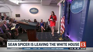 Sean Spicer resigns, replacement named