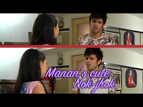 Manik and Nandani's cute nok jhok from the sets