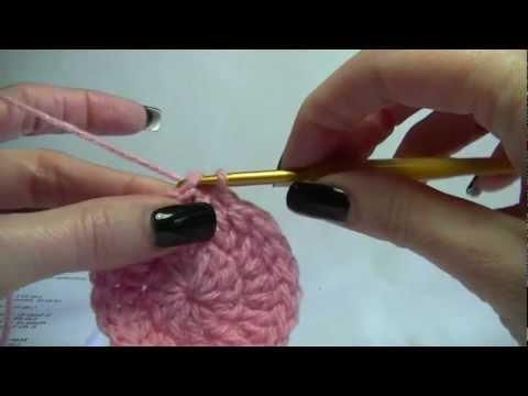 Crochet Basic Crown of a Beanie / hat Tutorial