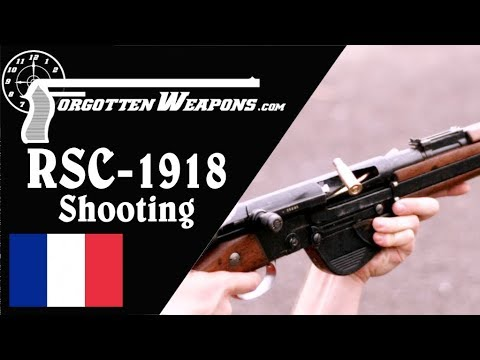 Shooting the RSC-1918 and RSC-1917 French Autoloaders