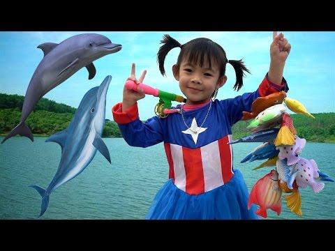 Let's Go Fishing Game For Kids – Bộ Đồ Chơi Câu Cá Cho Bé ❤ AnAn ToysReview TV ❤ - Thời lượng: 10:17.