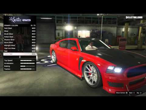 GTA 5 PS4 - Bravado Buffalo S Customization