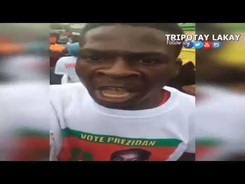 Se Konsa Moise Jean Charles tap fèmen Kanpay Elektoral li 18 Nov 2016