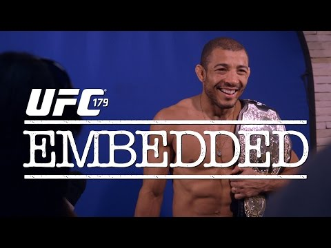 vlog - On episode 1 of UFC 179 Embedded, as featherweight champion Jose Aldo prepares for his title defense on home soil in Rio, he has harsh words for his opponent Chad Mendes and divisional ...