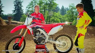 8. 2018 Honda CRF 250R Demonstration | (DUAL EXHAUST 250cc MOTOCROSS) - 250cc DIRTBIKE Honda CRF250R