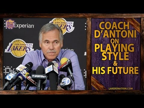 Video: Lakers Coach D'Antoni On His Future, 'Ludicrous' That His Style Of Play Causes Injuries