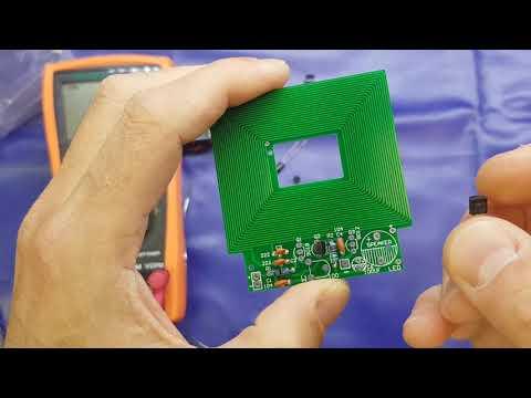 Simple metal detector kit build - electronics tutorial