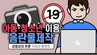 카메라 촬영죄와 아동,청소년 이용 음란물 제작