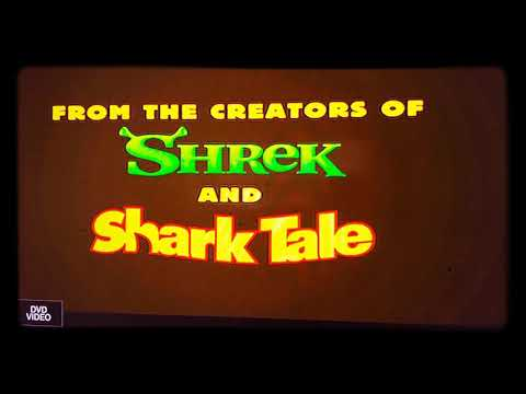 Opening To Shark Tale DVD Menu (2004) 🦈