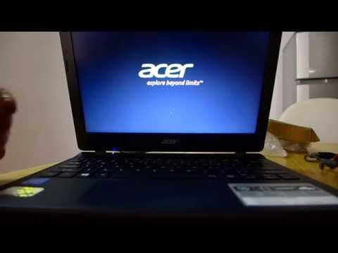 Démarrer/booter sur  clé USB - Acer aspire sous windows 10