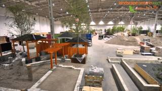 Canada Blooms 2012 Landscape Ontario Garden Build Time Lapse