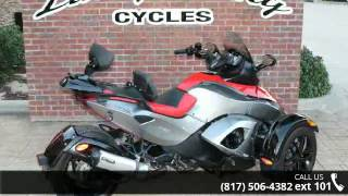 11. 2012 Can-Am Spyder RS-S SM5  - Lucky Penny Cycles - Bedfo...