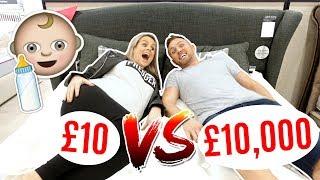 Video £10 BED vs £10,000 BED SHOPPiNG FOR PREGNANT MUM! 👶 MP3, 3GP, MP4, WEBM, AVI, FLV Desember 2018