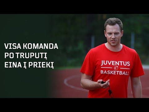 """""""Juventus"""" fizinio rengimo treneris: """"Visa komanda po truputi eina į priekį"""""""