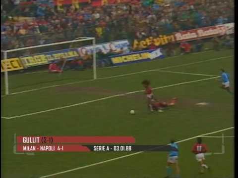 tutti i goal di ruud gullit con la maglia del milan, stagione 1987-88!