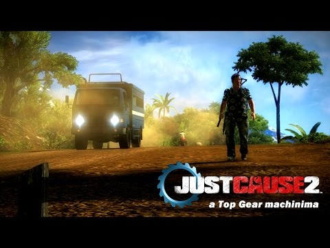 Top Gear parody made in Just Cause 2