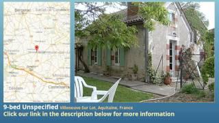 Villeneuve-sur-Lot France  city photos : 9-bed Unspecified for Sale in Villeneuve Sur Lot, Aquitaine, France on frenchlife.biz