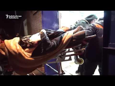 Casualties Mount In Eastern Ukraine As Conflict Escalates (видео)