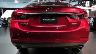 2014 Mazda6 Diesel Debuts For North America - 2012 LA Auto Show