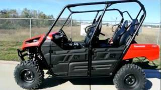 7. Overview and Review: New 2012 Kawasaki Teryx4 4 Passenger Side by Side!
